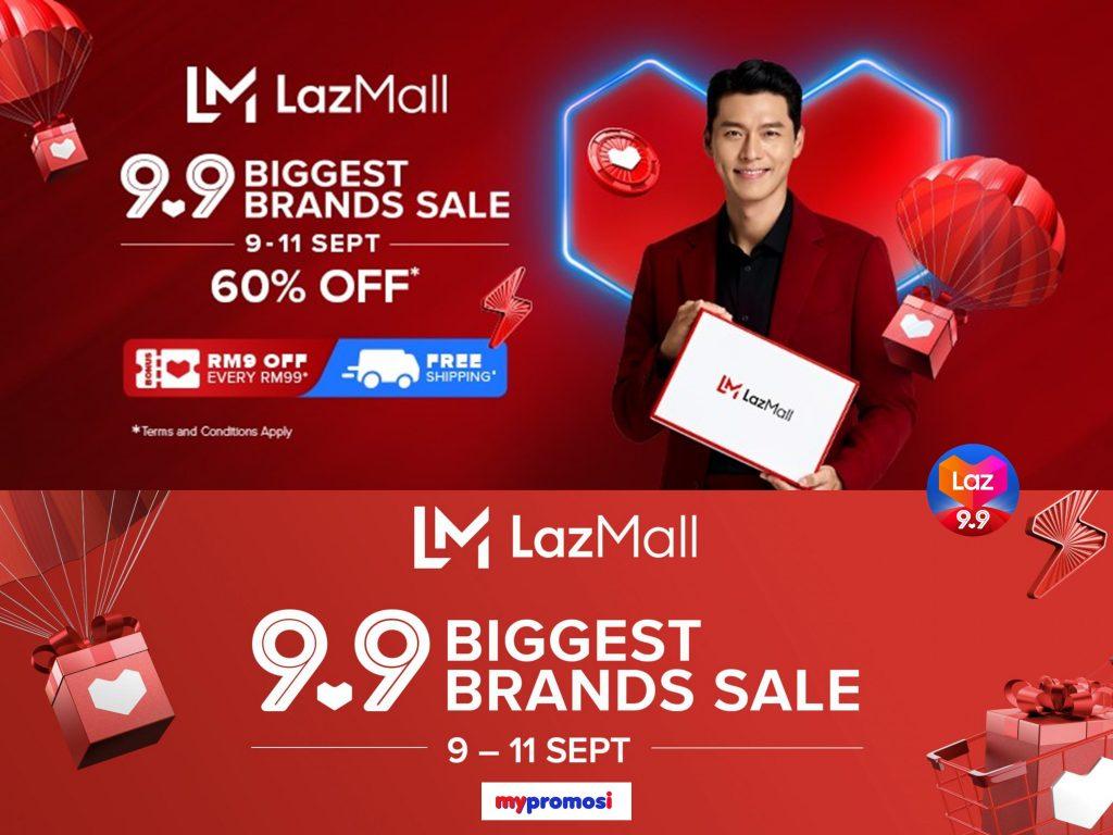 Jualan Lazada 9.9 Biggest Brand Sale