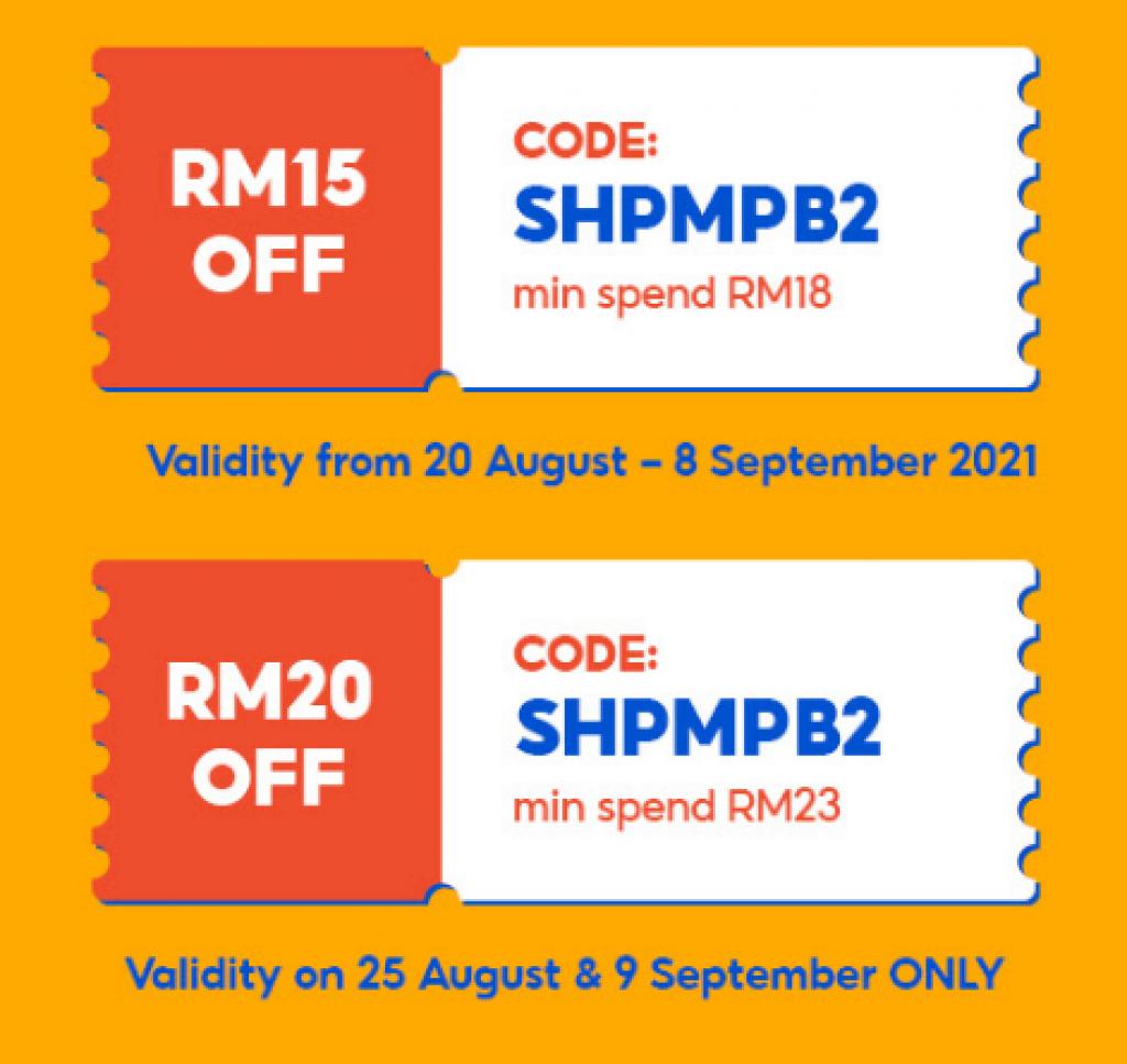 Kod Baucar Shopee untuk Pengguna Baru - Nikmati Diskaun RM20