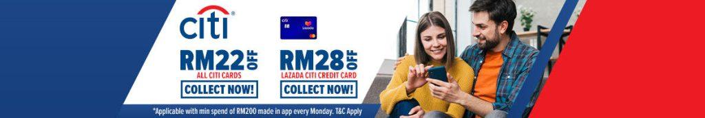 Lazada x Citibank Every Monday